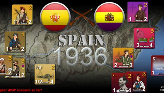 Spanish Civil War release